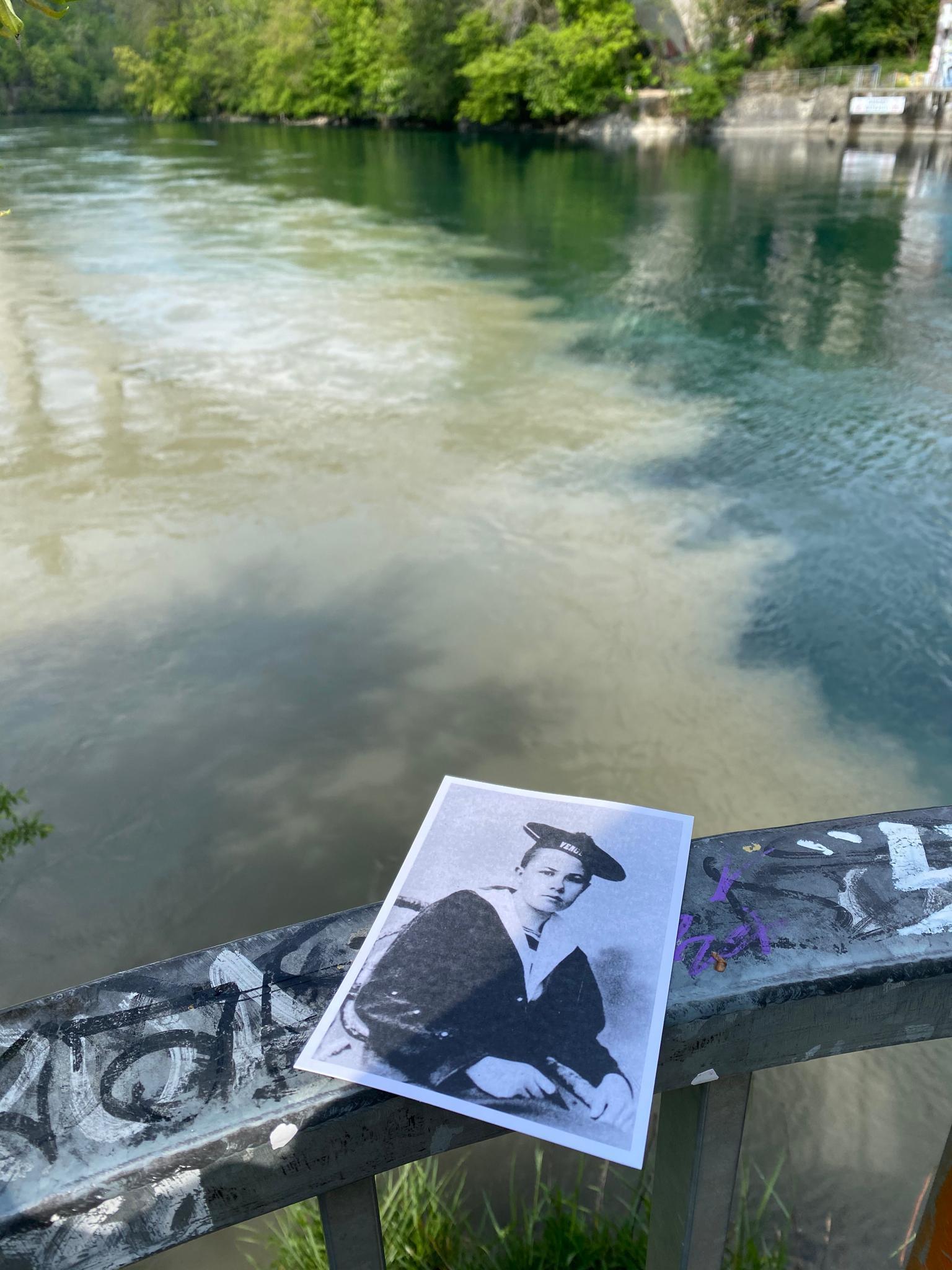 Dire au revoir au Rhône et à Isabelle Eberhardt depuis la pointe de la Jonction