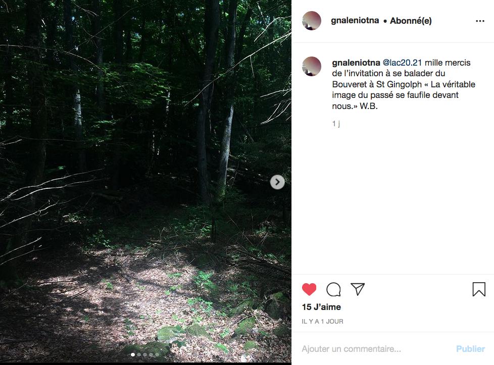 Capture d'écran Instagram / Antoine Läng