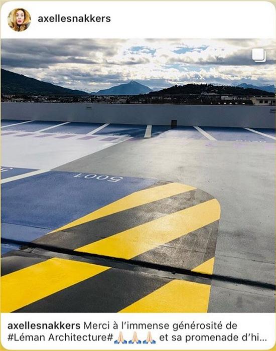 Capture d'écran instagram / Axelle Snakkers