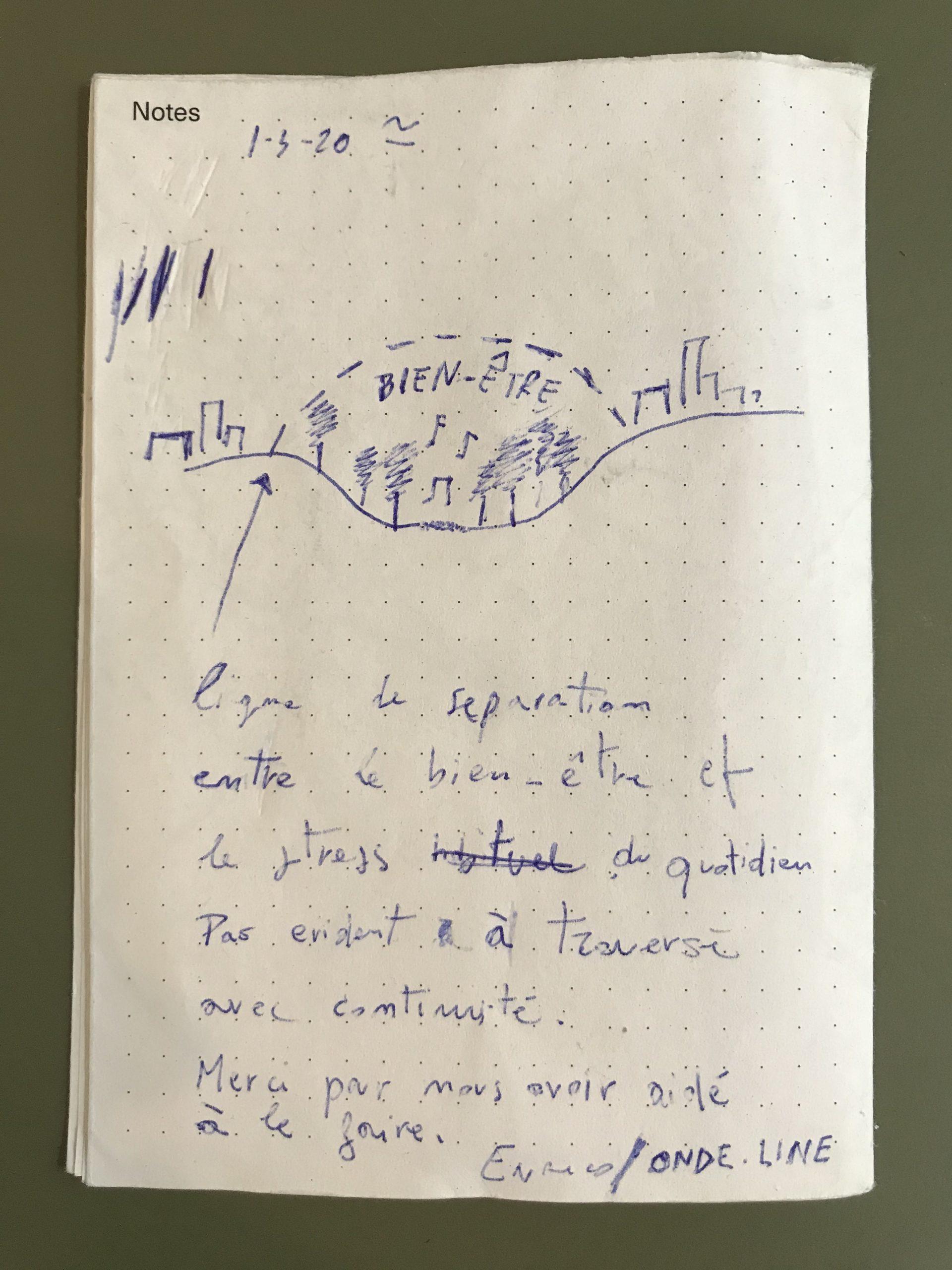 le carnet d'Enrico