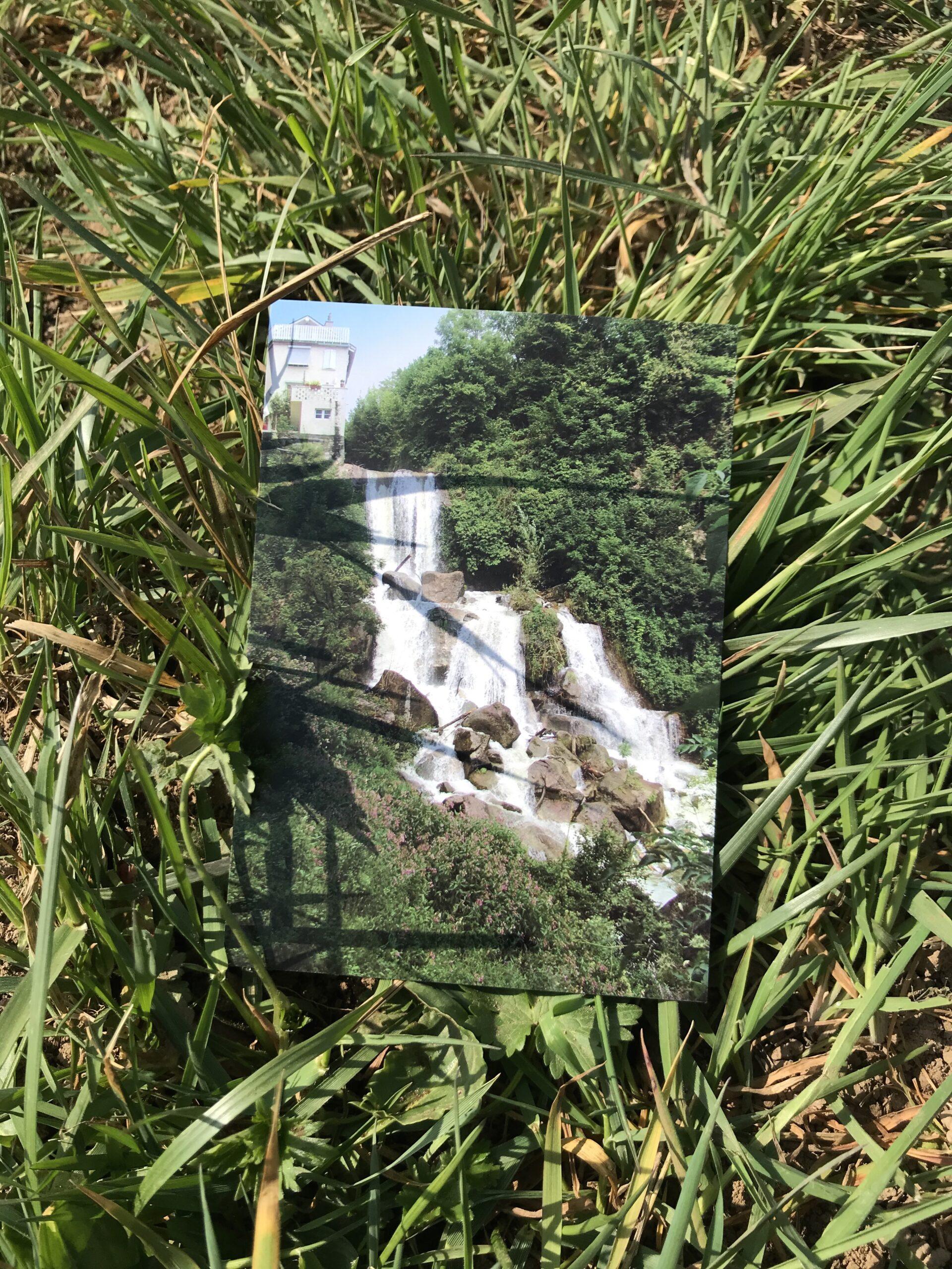 Stefan Banz, Marcel Duchamp et la chute d'eau du Forestay © Héloïse Gailing
