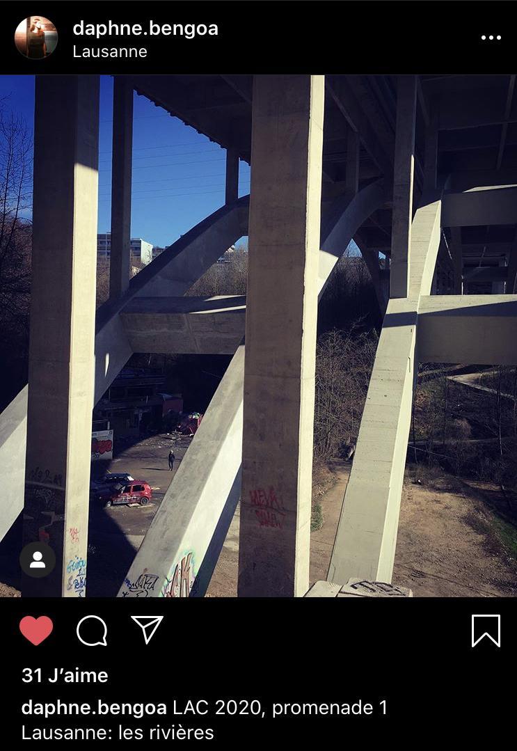 Capture d'écran Instagram / Daphné Bengoa