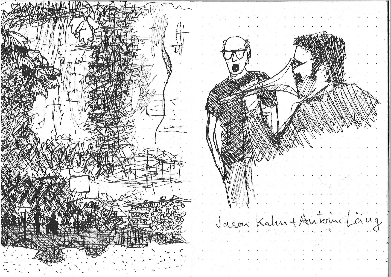 le carnet de Nicolas Monnerat : Antoine Läng et Jason Kahn